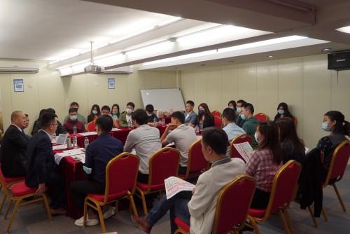 青進會舉行「十九屆五中全會精神學習交流座談會」